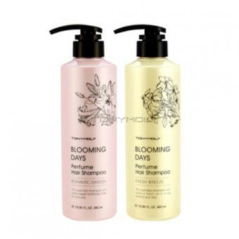 TonyMoly Blooming Days Perfume Hair Shampoo Romantic Garden - Шампунь парфюмированный