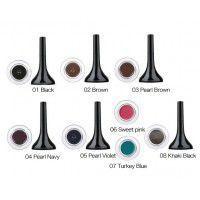 Backstage gel eyeliner 08 - khaki black - Гелевая подводка для глаз