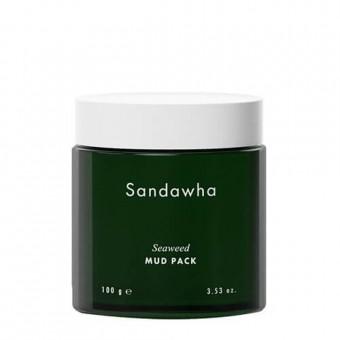 Sandawha Seaweed Mud Pack - Маска очищающая с глиной и морскими водорослями