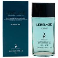 Collagen + Green Tea Skin Care Utilites For Men Skin - Тонер для мужчин с коллагеном и зеленым чаем