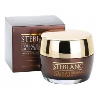 Steblanc Collagen Firming Rich Cream - Питательный крем лифтинг для лица с коллагеном
