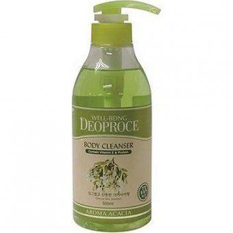 Deoproce Well-Being Aroma Body Cleanser Acacia - Гель для душа с экстрактом акации