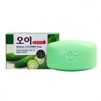 Mukunghwa Moisture Cucumber Soap - Мыло огуречное