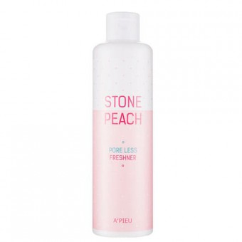 A'pieu Stone Peach Pore Less Freshner - Тонер с экстрактом персика для сужения пор на лице