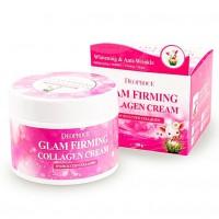 Moisture Glam Firming Collagen Cream - Подтягивающий крем для лица на основе свиного коллагена