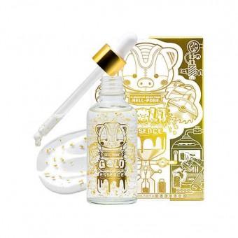 Elizavecca Milky Piggy Hell Pore Gold Essence - Увлажняющая эссенция для лица с частичками золота