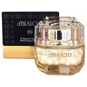 D'beaucer Royal de Pearl Capsule Cream - Омолаживающий капсульный крем с жемчугом