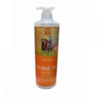 Deoproce Horse Oil Hyalurone Shampoo - Шампунь с лошадиным жиром и гиалуроновой кислотой