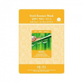 Mijin Snail Essence Mask - Маска тканевая с улиткой