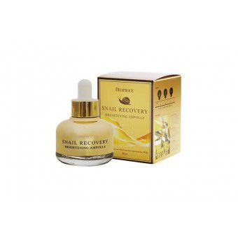 Deoproce Snail Recovery Brightening Ampoule - Сыворотка на основе муцина улитки