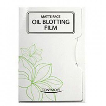 TonyMoly 3m Oil Blotting Film - Матирующие салфетки