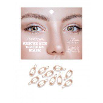 Kocostar  Rescue Eye Capsule Mask - Инкапсулированная сыворотка-филлер для глаз