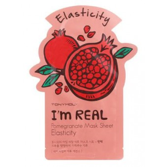 TonyMoly I'm Real Pomegranate Mask Sheet - Маска гранатовая