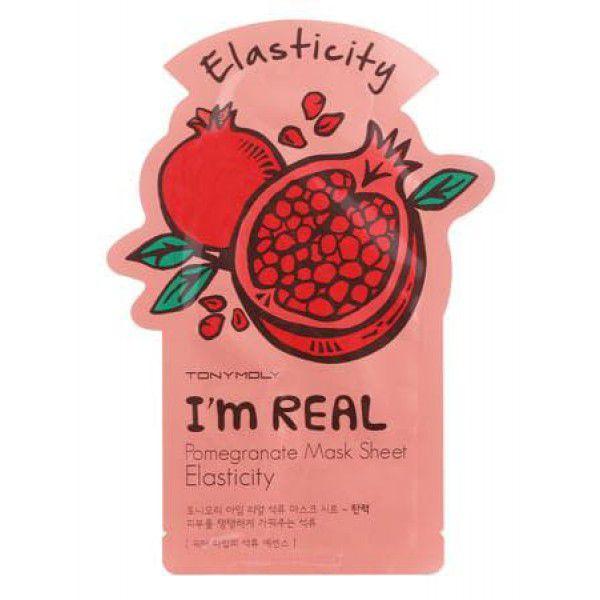 Купить I'm Real Pomegranate Mask Sheet - Маска гранатовая, TonyMoly
