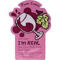 I'm Real Red Wine Mask Sheet - Маска с экстрактом красного вина