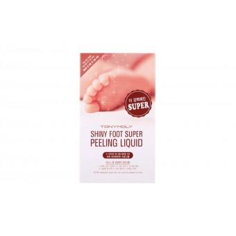 TonyMoly Shiny Foot Super Peeling Liquid - Пилинг для ног, носки для педикюра