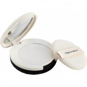 TonyMoly Delight Cotton Pact 01 Clear - Матирующая пудра