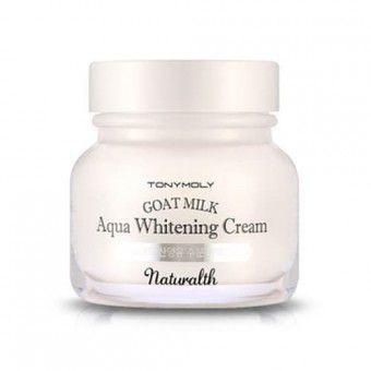 TonyMoly Naturalth Goat Milk Aqua Whitening Cream - Крем осветляющий на основе козьего молока