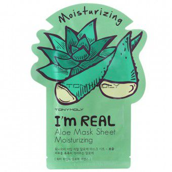 TonyMoly I'm Real Aloe Mask Sheet - Маска с экстрактом алоэ