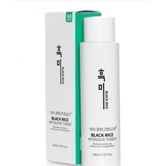 Black Rice Intensive Toner - Очищающий тоник для проблемной кожи