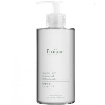 Evas Fraijour Original Herb Wormwood O2 Maskpack - Маска для лица кислородная