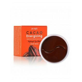 Petitfee Cacao Energizing Hydrogel Eye Mask - Патчи для глаз гидрогелевые какао
