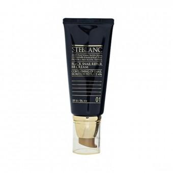 Steblanc Black Snail Repair BB Cream - ВВ крем с муцином Чёрной улитки тон 01