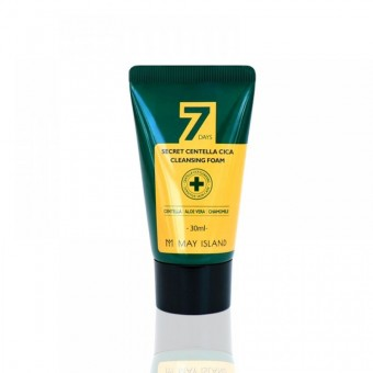 May Island 7 Days Secret Centella Cica Cleansing Foam - Пенка с экстрактом центеллы 30 мл.