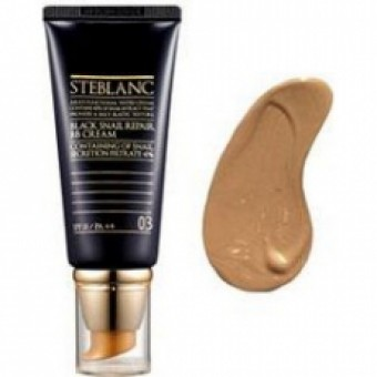 Steblanc Black Snail Repair BB Cream - ВВ крем с муцином Чёрной улитки тон 03