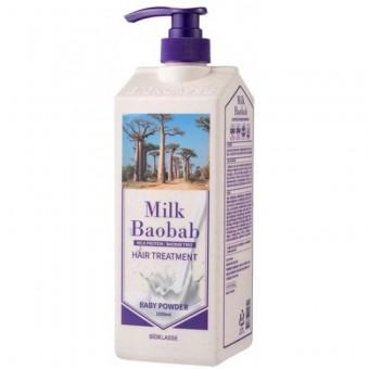Milk Baobab Original Treatment Baby Powder - Бальзам для волос с ароматом детской присыпки 1000 мл