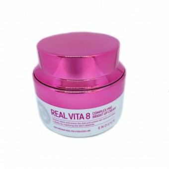Enough Real Vita 8 Complex Pro Bright Up Cream - Питательный крем для лица