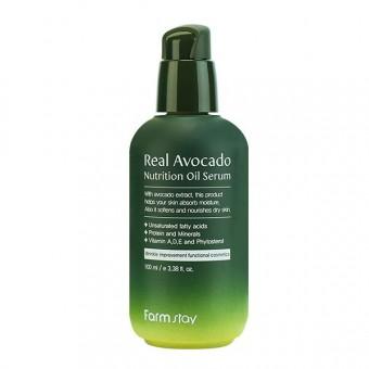 Farm Stay Real Avocado Nutrition Oil Serum - Сыворотка питательная с маслом авокадо
