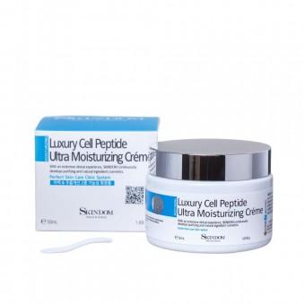 Skindom Luxury Cell Peptide Ultra Moisturising Creme - Глубоко увлажняющий крем с элитными клеточными пептидами