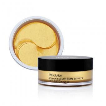 JM Solution Golden Cocoon Home Esthetic Eye Patch - Патчи с экстрактом золотого шелкопряда