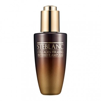 Steblanc Collagen Firming Intensive Ampoule - Сыворотка лифтинг для лица с коллагеном
