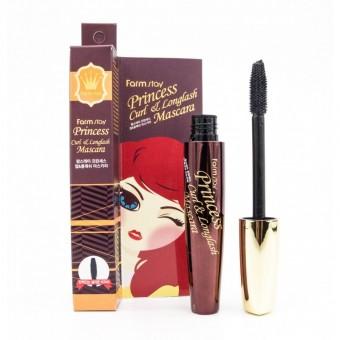 Farm Stay Princess Curl & Longlash Mascara - Тушь для подкручивания и удлинения ресниц