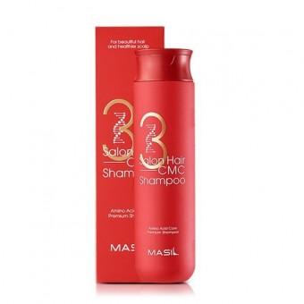 Masil 3 Salon Hair CMC Shampoo - Восстанавливающий шампунь с аминокислотами