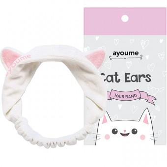 Ayoume Hair Band Cat Ears - Повязка для волос Кошачьи ушки
