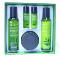 Green Tea Fresh Moisture Control 3 Set - Набор для лица с зеленым чаем