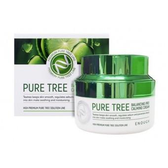 Enough Pure Tree Balancing Pro Calming Cream - Крем для лица с экстрактом чайного дерева