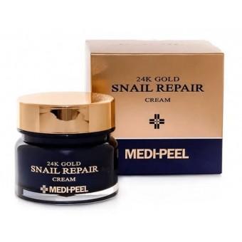 Medi-Peel 24K Gold Snail Cream - Премиум-крем с золотом и муцином улитки