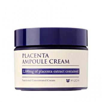 Mizon Placenta Ampoule Cream - Антивозрастной крем с плацентой
