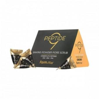 Farm Stay Peptide 9 Baking Powder Pore Scrub - Скраб для лица с пептидами