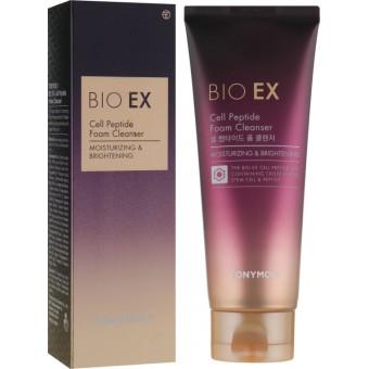 TonyMoly Bio EX Cell Peptide Foam Cleanser - Пенка для умывания с EGF и пептидами