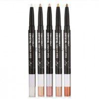 Crystal Lovely Eyes #3 Pink Beam - Подводка-карандаш для глаз