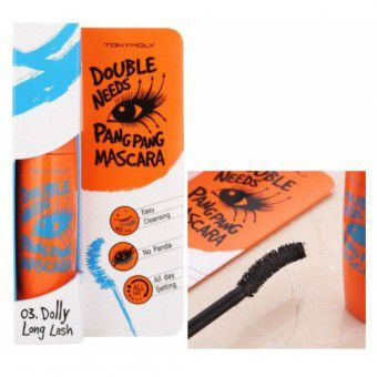 TonyMoly Double Needs Pang Pang Mascara 03 Long Long - Тушь для ресниц