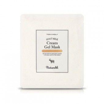 TonyMoly Naturalth Goat Milk Cream Gel Mask -  Маска гелевая с козьим молоком