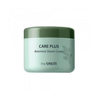 The Saem Care Plus Artemisia Steam Cream - Успокаивающий крем с полынью и маслом ши