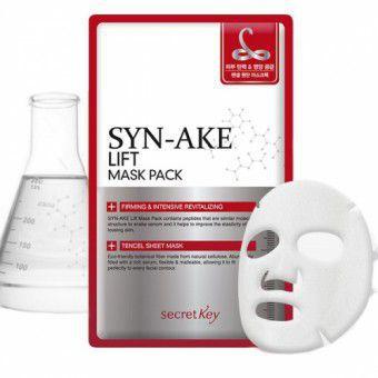 Secret Key Syn-Ake Lift Mask Pack - Маска-лифтинг с пептидами змеиного яда