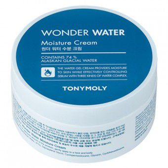 TonyMoly Wonder Water Moisture Cream - Крем для тела увлажняющий